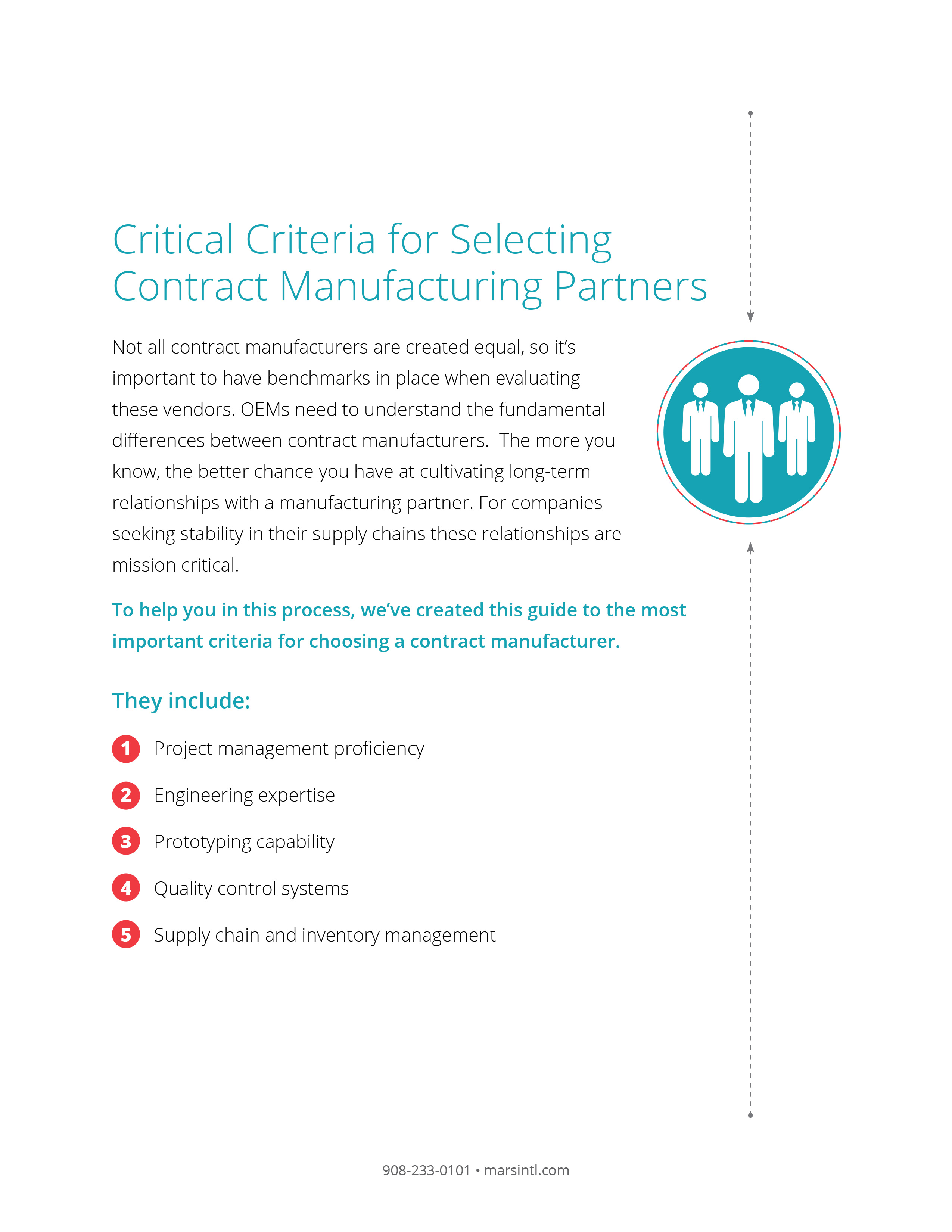Critical Criteria for Selecting Contract Manufacturing Partners